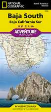 Baja California, South, Mexico: Travel Maps International Adventure Map