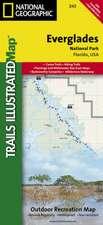 Everglades National Park: Trails Illustrated National Parks