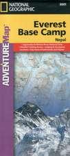 Everest Base Camp, Nepal: Travel Maps International Adventure Map