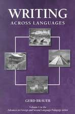 Writing Across Languages