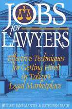 Jobs for Lawyers