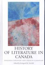 History of Literature in Canada – English–Canadian and French–Canadian