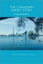 The Canadian Short Story – Interpretations