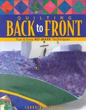 Quilting Back to Front - Print on Demand Edition