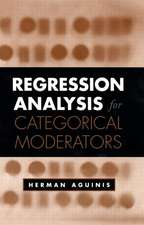 Regression Analysis for Categorical Moderators:  Evidence-Based Strategies for Improving Student Outcomes