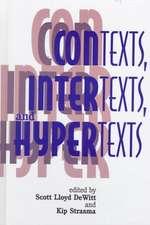 Contexts, Intertexts and Hypertexts