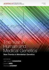 The Year in Human and Medical Genetics: New Trends in Mendelian Genetics, Volume 1214