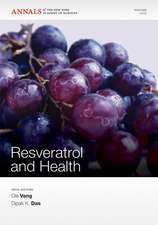 Resveratrol and Health, Volume 1215