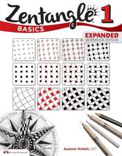 Zentangle Basics 1:  Fresh Designs and Easy Instructions for Beginners
