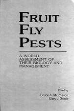 Fruit Fly Pests:  A World Assessment of Their Biology and Management