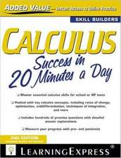 Calculus Success in 20 Minutes a Day