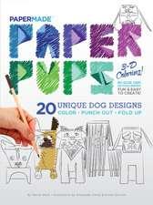 Paper Pups Coloring Book: Paper Pups 3-D Coloring!