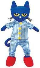 Jucărie de pluș Pete the Cat : Bedtime Blues Doll 37 cm