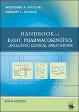 HANDBOOK OF BASIC PHARMACOKINETICS