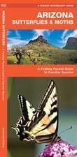 Arizona Butterflies & Moths: A Folding Pocket Guide to Familiar Species