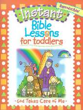 For Toddlers:  God Takes Care of Me