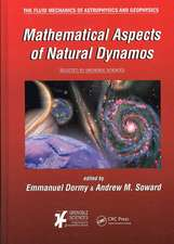 Mathematical Aspects of Natural Dynamos