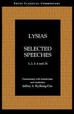 Lysias: Selected Speeches: 1, 2, 3, 4, and 24