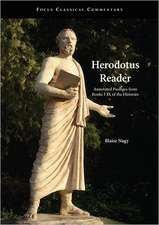 Herodotus Reader: Annotated Passages from Books I-IX of the Histories