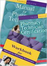 Manual for Pharmacy Techicians [With 2 Paperbacks]