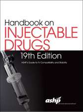 HANDBK ON INJECTABLE DRUGS