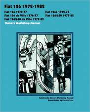 Fiat 126, 126l, 126 de Ville, 126/650 & 126/650 de Ville 1972-1982 Owners Workshop Manual