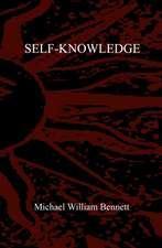Self-Knowledge:  Volume One