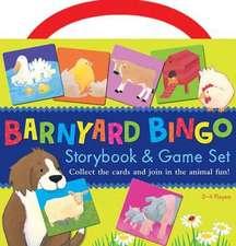 Barnyard Bingo Book & Game Set