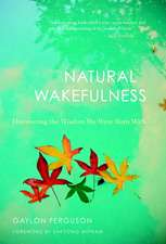 Natural Wakefulness:  Discovering the Wisdom We Were Born with