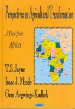 Perspectives on Agricultural Transformation: A View From Africa