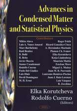 Advances in Condensed Matter & Statistical Physics