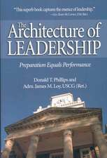 The Architecture of Leadership: Preparation Equals Performance