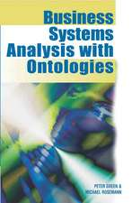 Business Systems Analysis with Ontologies