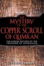 The Mystery of the Copper Scroll of Qumran:  Aboriginal Tales of the Ancestral Powers