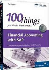Ovigele, P: Financial Accounting with SAP