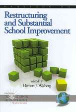 Handbook on Restructuring and Substantial School Improvement (Hc)