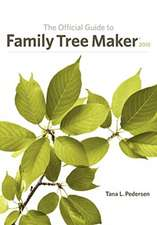 The Official Guide to Family Tree Maker