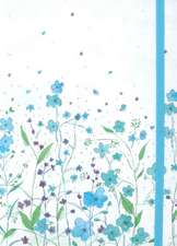 Blue Flowers Journal:  An Activity Book, Record Keeper & Photo Album All Wrapped in One [With Pen and 8 Postcards]