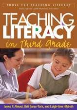 Teaching Literacy in Third Grade