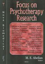 Focus on Psychotherapy Research