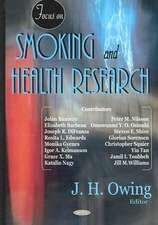 Focus on Smoking and Health Research
