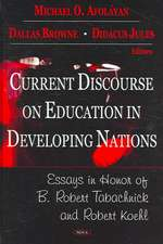Current Discourse on Education in Developing Nations