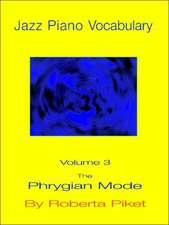 Jazz Piano Vocabulary Volume 3