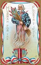 Uncle Sam W/ Fireworks - 4th of July Greeting Card