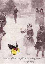 Skaters & Butterfly - Greeting Card
