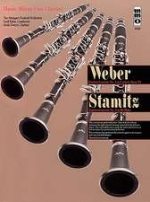 Weber:  Concerto No. 3 in B Flat for Clarinet