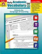 Daily Academic Vocabulary Grade 5 [With Transparencies]