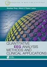 Quantitative EEG Analysis Methods and Applications [With CDROM]