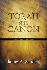Torah and Canon