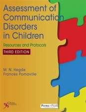 Assessment of Communication Disorders in Children